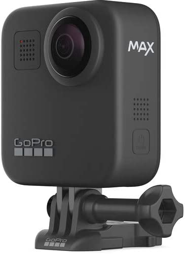 GoPro MAX 360 Action Camera w Extra Battery, 32GB Memory Card and GoPro Tripod Mounts with Mini Tripod