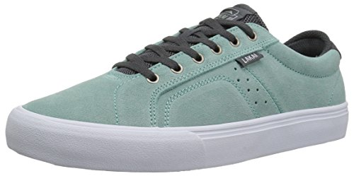 Lakai Mens Skateboard Shoe - Lakai Men's Flaco High Skate Shoe, Mint Suede, 11 M US