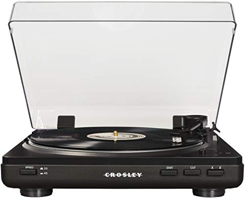 Crosley T400 Fully Automatic 2-Speed Component Turntable with Built-in Preamp, ()