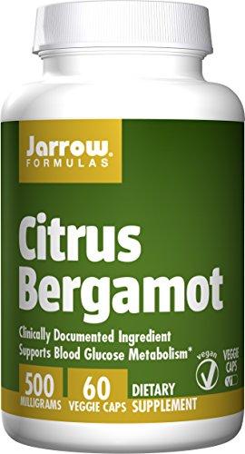 Jarrow Formulas Citrus Bergamot, 500 Mg, 60 capsules