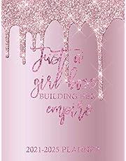 Just A Girl Boss Building Her Empire Planner: 60 Months Calendar, 5 Year Appointment Calendar, Business Planners, Agenda Schedule Organizer Logbook and Journal