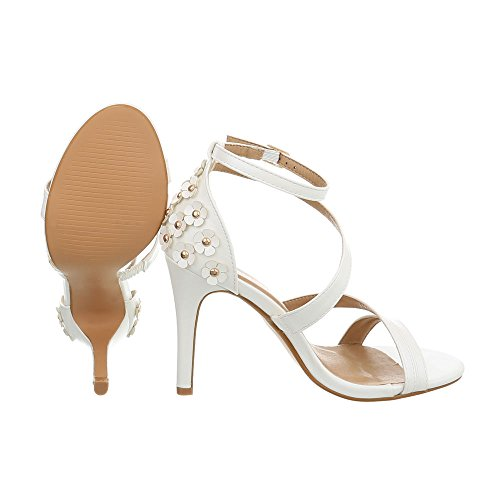 Zapatos Tac de Sandalias para Vestir Mujer AwOqHA0