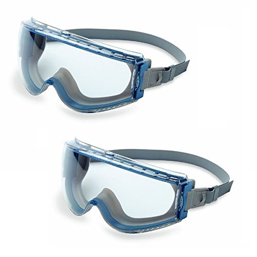 Uvex Stealth Safety Goggles with Uvextreme Anti-Fog Coating
