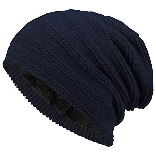 (Fantastic Zone Winter Beanie Hat for Men and Women Warm Knit Hats Slouchy Thick Skull Cap)