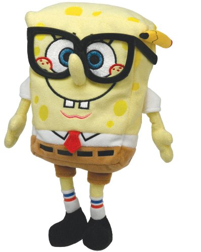 a12758d97bd Image Unavailable. Image not available for. Color  TY Beanie Baby SpongeBob  Smartypants