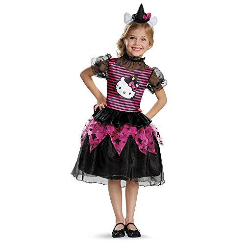 Hello Kitty Witch Classic Costume, Medium (7-8)