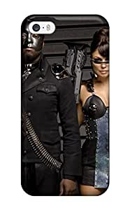 Awesome Design Black Eyed Peas Anime Hard Case Cover For Iphone 5/5s