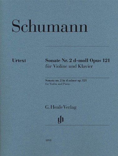 Violin Sonata No. 2 in D Minor, Op. 121