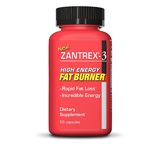 ZANTREX-3 High Energy Fat Burner- Supplementary Diet Pills that Provide High Amounts of Energy, Extreme Fat Burning, and Aid in Losing Body Fat, (56 (Extreme Fat Burner)