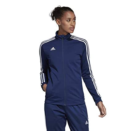 bfb46e58d49 adidas Tiro 19 Training Jacket, 2XL, Dark Blue/Bold Blue/White