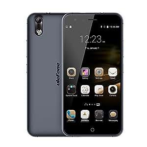Ulefone París - Smartphone libre (Android, RAM 2GB, ROM 16 GB, Octa-Core) (NEGRO)