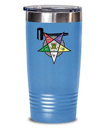 - Masonic tumbler - Order of The Eastern star Past Matron gavel symbol - Freemason PHA OES Sistar - Freemasonry lodge gift accessories - Prince Hall gifts - 20 oz