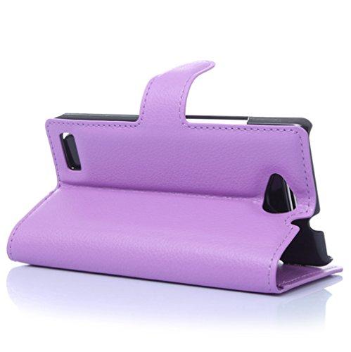 Funda ZTE BLADE G LuX,Manyip Caja del teléfono del cuero,Protector de Pantalla de Slim Case Estilo Billetera con Ranuras para Tarjetas, Soporte Plegable, Cierre Magnético D