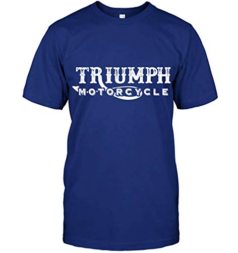 HOSALA 19 Years Old T-Shirt Triumph Motocycle Classic Cotton(Deep ()