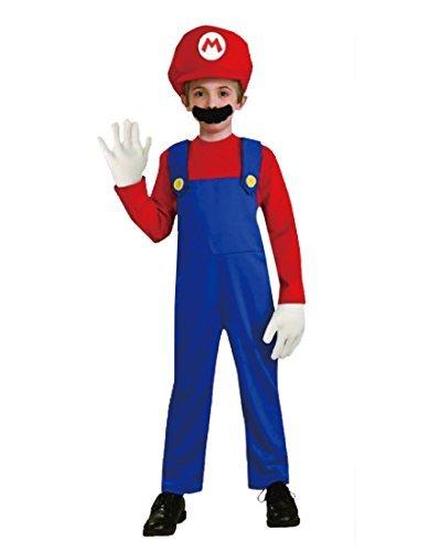 Rubber Johnnies TM Mario Bros Mario Estilo Traje fontanera Mate ...