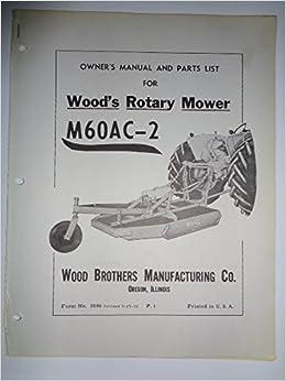 woods cadet 60 manual
