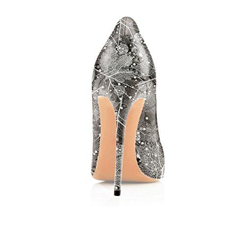 da Donna Donna Scarpe b Multi Chiuse Soireelady col Scarpe Scarpe Eleganti Donna Tacco vOTfqX