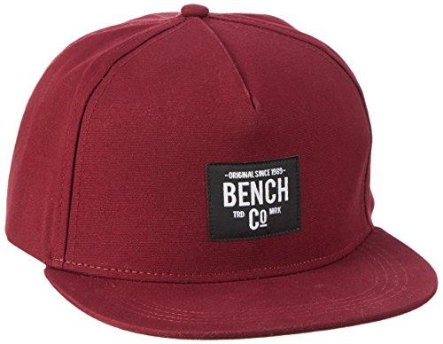 Burgundy Bench Cap Gorra BU018 Core de para Hombre Rosa Béisbol gpUFgw1q