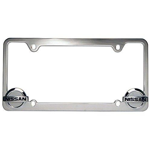 pilot-chrome-nissan-license-plate-frame