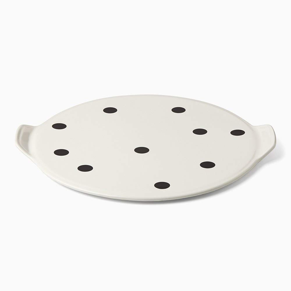Kate Spade New York All In Good Taste Deco Dot Pizza Stone