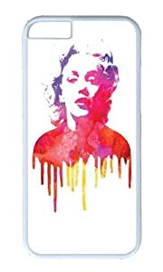 Apple Iphone 6 Case,WENJORS Adorable Marilyn I Hard Case Protective Shell Cell Phone Cover For Apple Iphone 6 (4.7 Inch) - PC White