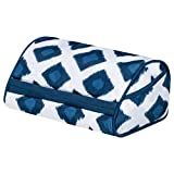 "LapGear Designer Tablet Pillow - Navy Ikat (Fits up to 10.5"" Tablet)"