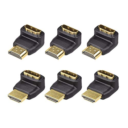 VCE 3 Combos 3D&4K Supported HDMI 90 Degree and 270 Degree Male to Female ()