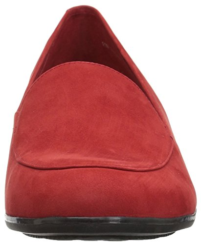 Loafer Monarch Nubuck Red Women's Trotters wXUHUEq