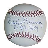 EDDIE MURRAY SIGNED BALTIMORE ORIOLES OML MLB BASEBALL 77 AL ROY JSA