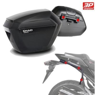 SHAD - SH23HE9/359 : Kit fijaciones y maletas laterales SH23: Amazon.es: Coche y moto