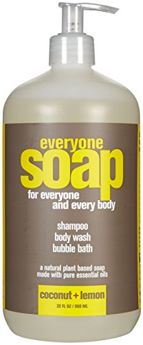 EO Products Everyone Botanical 3-In-1 Coconut & Lemon Soap 32 Ounce