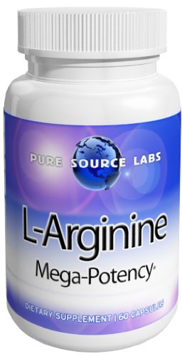 Eden Pond L-Arginine 1000mg from Purecap Labs Capsules, 60 Count