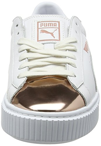 Metallic Basket Femme Sneakers Puma Basses Platform REwOqx6