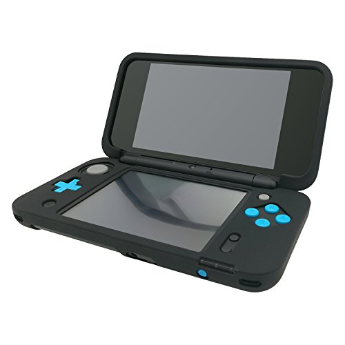 Silicone Case for NEW Nintendo 2DS XL, Protective Cover Skins for Nintendo 2DS LL - Black