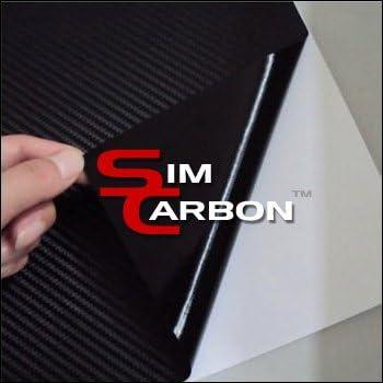 3D Carbon Fiber Vinyl Film Wrap-BLACK 24 x 60 Sheet