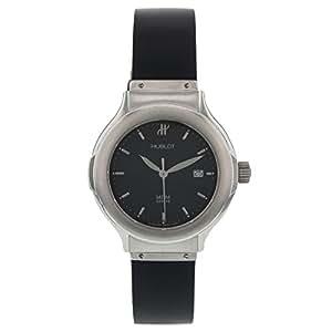 hublot mdm geneve montre elegant senyora stainless steel quartz women 39 s watch watches. Black Bedroom Furniture Sets. Home Design Ideas