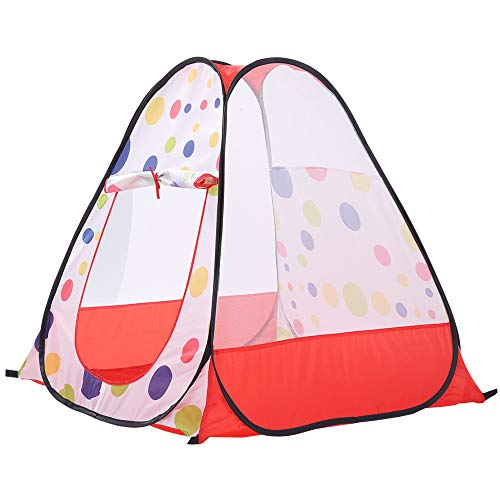 Sviper Kids Play Tunnels Kids Play Tent Polka Dot Pattern Indoor Toys Children Playhouse Portbale Pop Up Tunnel Gift Toy by Sviper (Image #2)