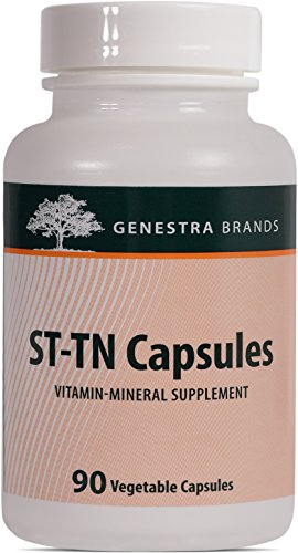 Genestra Brands – ST-TN Capsules – Blend of Biotin and Vitamin E – 90 Vegetable Capsules