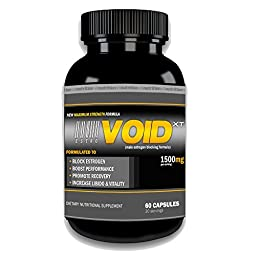 EstroVoid XT Estrogen Blocker for Men | Aromatase Inhibitor, Anti Estrogen, and Testosterone Booster