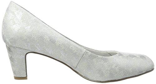 Argent 22418 Escarpins Struct Femme Tamaris silver qtRzSAzf
