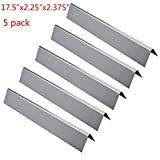 GASPRO Stainless Steel Replacement Flavorizer Bars - Heat Plate and Heat Tent Set for Weber Genesis 300 - E310 - S310 - E330 - EP-330 Series Grill(L17.5 x W2.25x H2.375 inch) (5 pack)