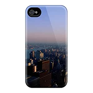 Vie4324QRBT Cases Skin Protector For Iphone 6 New York City With Nice Appearance
