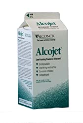 Alconox 1404 Alcojet Low Foaming Powdered Detergent, 4 lbs Box (Case of 9)