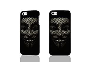 Guy Fawkes 3D Rough Case Skin, fashion design image custom , durable hard 3D case cover for iPhone 5 5S , Case New Design By Codystore