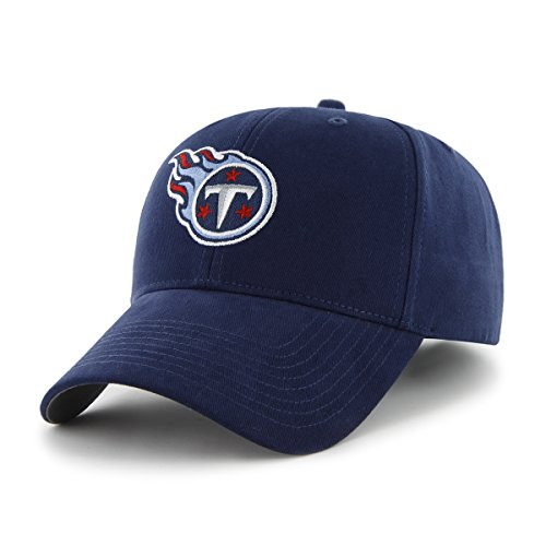 上院尊敬するスピリチュアルNFL Tennessee Titans Infant ' 47基本MVP調節可能な帽子、ライトネイビー
