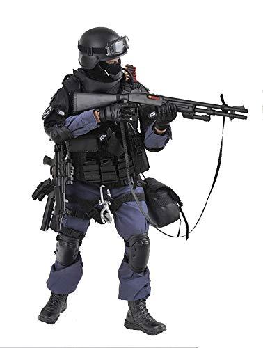 SOLDIER STORY Head Sculpt BLUE STEEL COMMANDOS SWAT 1//6 ACTION FIGURE TOYS did
