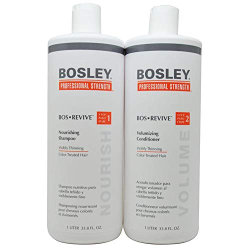 BosleyProfessional Revive Shampoo and Conditioner duo set for Color Treated Hair (33.8 (Hair Shampoo Conditioner)