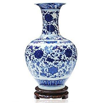 ufengke®Blue And White Porcelain Vase Online - Collection Porcelain Vase