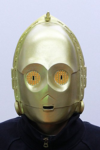 Star Wars C-3PO Rubber Mask -
