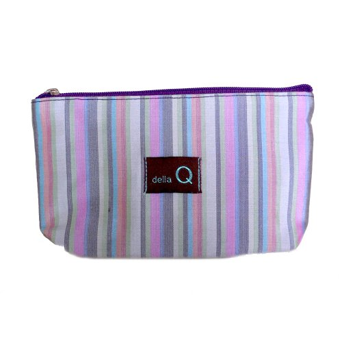 della Q Tagalong Knitting Case for Interchangeable Knitting Needle Case; 018 Purple Stripes 1104-1-018 by della Q